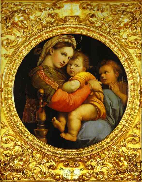 Madonna della Sedia.