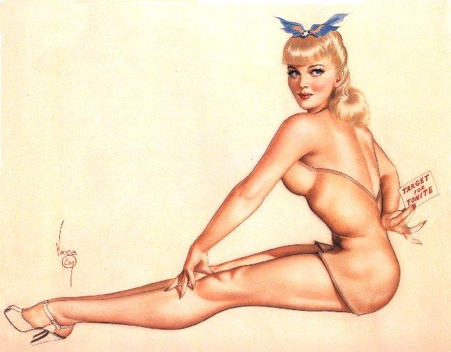 Dibujos Pin Up - Vintage